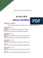 A.     ESCALA DIATÔNICA  -  A1  DESENHO MAIOR