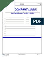90363835 Rafter Design