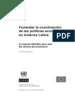 Ghymers -  Fomentar la coordinación de las políticas económicas en Am. Lat.