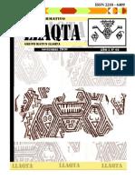 Boletín Llaqta N°01 2010