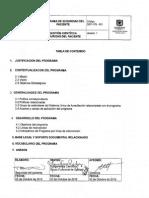 GCF-PG-001 Programa de Seguridad del Paciente
