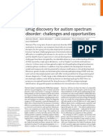 Espectro Autista, Descubrimiento de Medicamentos