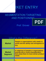Segmentation Targetg Positioning