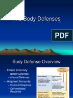 The Body Defenses