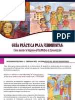 Peru Migraciones y Medios de Comunicacion
