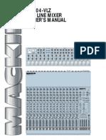Mackie CR1604 Manual