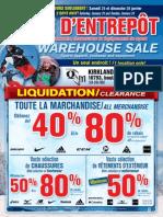 QSM Group Warehouse Sale / Vente d'Entrepôt