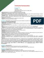 Mini Prontuario Farmaceutico Per Il Giovane Medico