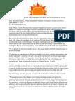 Sunnyside Chamber of Commerce, Letter by Rigo Cardoso