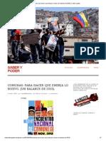 Iturriza, R. Comunas, para hacer que emerja lo nuevo. (Un balance de 2013), 3-1-14.pdf