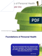 Chapter 1 - Foundations of Health