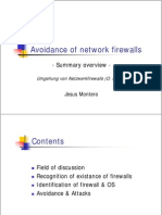 Avoidance of Network Firewalls