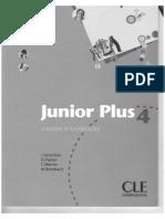 Junior Plus 4 Cahier Dos 0 Et 1