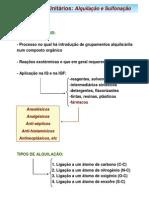 Alquilaçao_Sulfonaçao
