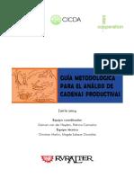 Guis Metodologica Para Las Cadenas Productivas