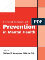 2010 - Clinical Manual of Prevention in Mental Health - Compton