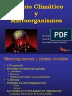 Cambio Climatico y Microorganismos