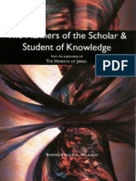 Manners of the Scholar Student of Knowledge