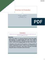 Structure & Formulae