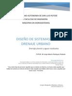 diseño de Sistemas de drenaje urbano rev