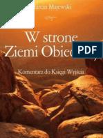W stronę Ziemi Obiecanej. Komentarz do Księgi Wyjścia - Marcin Majewski