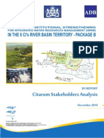 Citarum Stakeholders Analysis B1 101210