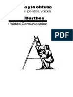 113659620 Roland Barthes Lo Obvio y Lo Obtuso True OCR