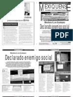 Versión impresa del periódico El mexiquense 10 enero 2014