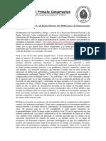 La nueva Ley Forestal y de Fauna Silvestre (Nº 29763) pone a la fauna peruana en peligro - Noga Shanee/NPC