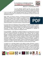 Comunicado sobre la CAMPA+æA NACIONAL E INTERNACIONAL POR LA LIBERTAD Y LA JUSTICIA 101213