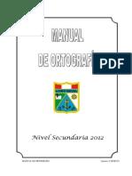 Manual de Ortografia 2012