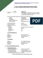 Informe Final Del Supervisor de Obra Letrinas Primera Etapa