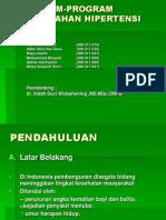 Prevention of Hypertension