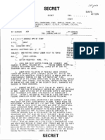 Declassified CIA Memo - SUBJECT