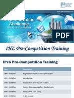 IPv6 Pre Comp Training - 02112012