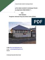 12 Pedoman Feng Shui Dalam Membeli & Membangun Rumah