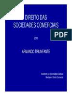 Direito Das Sociedades 2012