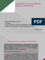 PROCESSO DE INSOLVÊNCIA - last version