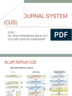 Open Journal System (Ojs)