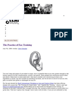 48090556 the Practice of Ear Training Dave Douglas