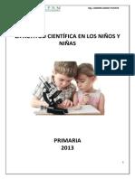 ACTITUD CIENTIFICA EN LOS NIÑOS