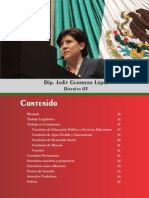 1er Informe Legislativo de la Dip. Judit Guerrero