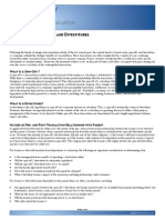 Valuation of Spin Offs and Divestiture s