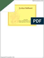 Jyotish Sadhana (1)