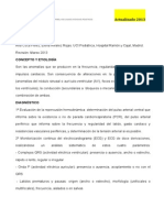 Protocolo Arritmias 2013