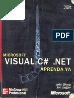 Sharp Jagger 2002 . Microsoft VISUAL C NET