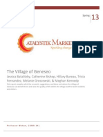 The Village of Geneseo Report