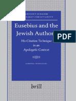 Eusebius and the Jewish Authors 2006