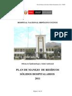 Plan de Manejo de Residuos Solidos 2011