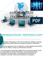 Information Technology Ppt